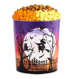 Bat Moon Rising Popcorn Tins